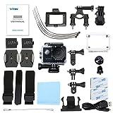 VTIN-WIFI-20-Zoll-Sport-Action-Kamera-Full-HD-1080P-mit-wasserdichtem-170-Weitwinkel-Objektiv-mit-Zubehr-Kits