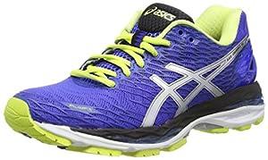 ASICS Gel-Nimbus 18, Women's Running Shoes, Blue (Blue Purple/Silver/Sunny Lime 4893), 6 UK