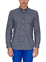 THE INDIAN FACE Camisa Hombre (Azul Marino)