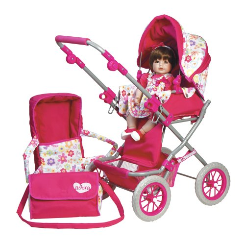 Doll Stroller and Accessories