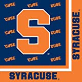 Creative Converting Syracuse Orange Luncheon Napkins (20 Count)