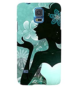 TOUCHNER (TN) Beautiful Girl Back Case Cover for Samsung Galaxy S5 G900i::Samsung Galaxy S5 i9600::Samsung Galaxy S5 G900F