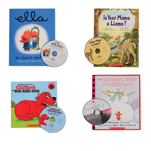 Read Along Books with Audio CDs – Set 2