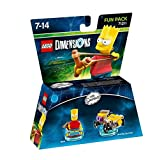 Cheapest LEGO Dimensions The Simpsons Bart Fun Pack on PlayStation 2