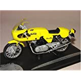 1972 Norton Commando 750 Production Racer [Solido 150790], Amarillo, 1:18 Die Cast