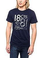 Cerruti Camiseta Manga Corta CMM8022350 C0842 (Azul Marino)