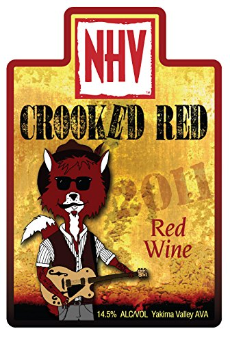 "2012 Naches Heights Vineyard ""Crooked Red"" Tempranillo-Based Red Blend 750 Ml"