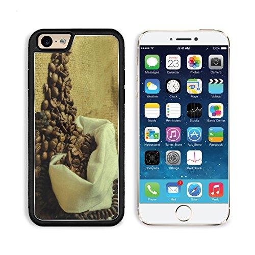 Coffee Beans In Burlap Sack 3Dcom Iphone 6 Cover Premium Aluminium Design Tpu Case Open Ports Customized Made To Order