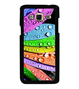 Printvisa Ultra Multicolour Flower 2D Hard Polycarbonate Designer Back Case Cover for Samsung...