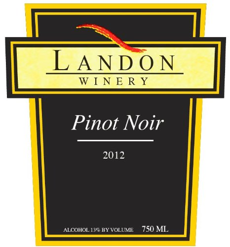 Landon Winery 2012  Pinot Noir, Texas 750 mL