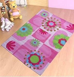 Los niños mechones alfombra 140cm x 200cm, alfombra dormitorio habitaciones infantil,