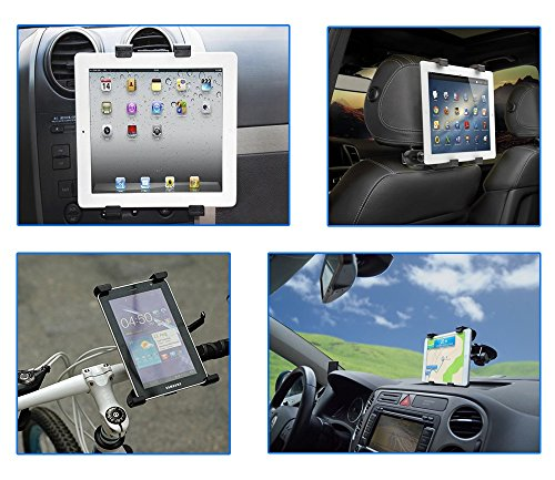 color dreams universal tablet auto fahrrad motorrad halterung kit 4 in 1 4 halterung f r den. Black Bedroom Furniture Sets. Home Design Ideas