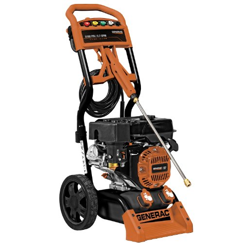 Generac 6598 3 - 100 PSI 2.7 GPM 212cc OHV Gas Powered Residential Pressure Washer Product Image