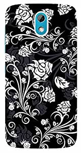 TrilMil Printed Designer Mobile Case Back Cover For HTC DESIRE 526 / 526G PLUS