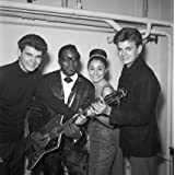 Everly Brothers with Bo Diddley (V&A Custom Print)