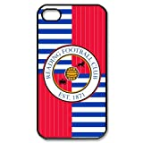Custom The Royals Reading Football Club iPhone 4,4S Hard Plastic Shell Case Cover White&Black(HD image)