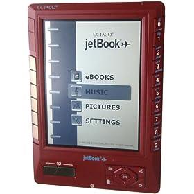 Jetbook e-book reader ECTACO