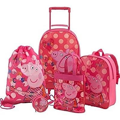Peppa Pig Luggage Set, Pink from Peppa Pig