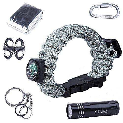 ttlife-superb-multi-12-uses-survival-kit-paracord-bracelet-with-compass-bottle-opener-whistle-fire-s