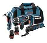 Bosch CLPK41-120 12-Volt Max Litheon 4-Tool Combo Kit