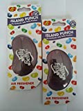 2 x Jelly Belly 3D 15255 ISLAND PUNCH Car/Home/Office Air Freshener
