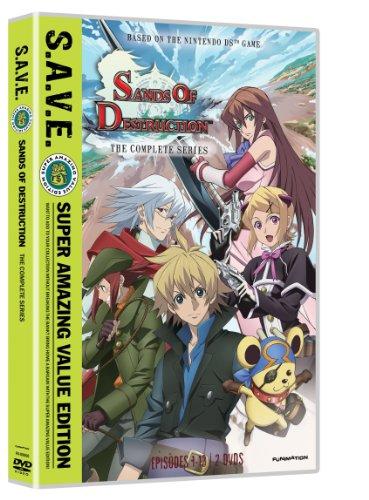 Sands of Destruction: The Complete Series S.A.V.E. (ワールド・デストラクション 世界撲滅の六人 DVD-BOX 北米版)