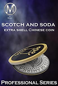 Mis magic Coint trick Scotch 'n Soda Extra Shell Chinese Coin