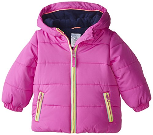 Carter's Baby Girls' Heavyweight Jacket, Violet, 18 Months