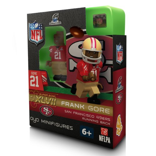 NFL San Francisco 49Ers Frank Gore  NFC Champs OYO Figure at Amazon.com