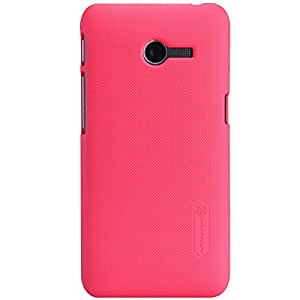 Newtronics Nillkin Frosted Shield Hard Bumper Back Case Cover For Asus Zenfone 4 A400CG With Free Nillkin Screen Guard - Red