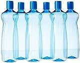#2: Princeware Aster Pet Fridge Bottle Set, 975ml, Set of 6, Blue