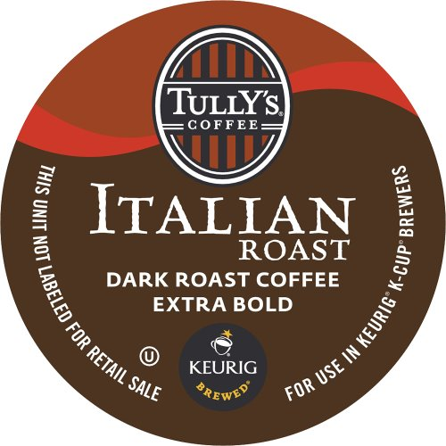 Keurig, Tully's Italian Roast, K-Cup Packs