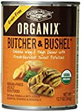 Organix Butcher and Bushel Organic Choice Chicken Wing and Thigh Dinner with Fresh-Harvest Sweet Potatoes for Pets, 12.7-Ounce , pack of 12