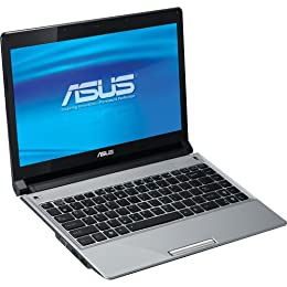 ASUS UL30A-A2 Thin and Light 13-3-Inch Silver Laptop - 12 Hours of Battery Life Windows 7 Home Premium