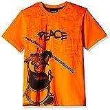 Kung Fu Panda Boys' T-Shirt (KFPTEE008_Orange_7 - 8 Years)