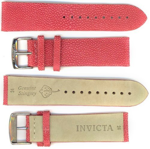 Invicta Genuine Stingray Pink Watch Band IS990