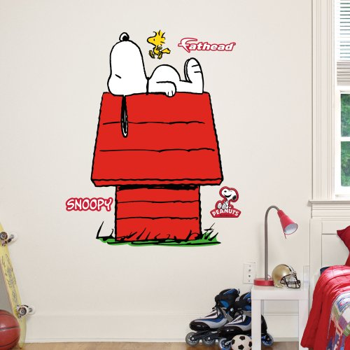 Fathead Junior Wall Decal  Peanuts Snoopy   sc 1 st  TheFindom & Snoopy wall stickers | Order Online Unique Snoopy wall stickers at ...