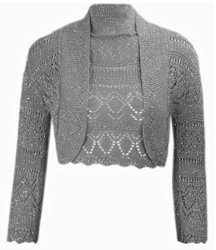 My Fashion Store -  Coprispalle  - Donna Gris - Charcoal/Grey M/L