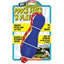 Pet Buddies PB1125 Pooch Fetch N Play TPR Toy with Nylon Rope
