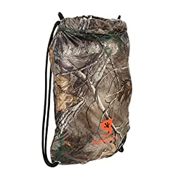 Geckobrands Waterproof Drawstring Backpack Real tree Extra Camouflage
