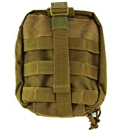 Monstrum Tactical MOLLE Quick Detach EMT/First Aid Pouch (Desert Tan)