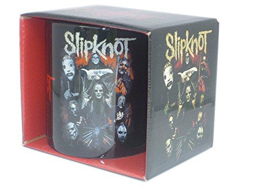 SLIPKNOT-Rock Band tazza regalo tazza-Come Play Dying-in confezione regalo