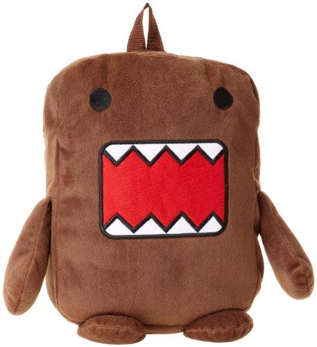 Domo Boys Stuffed Backpack Brown