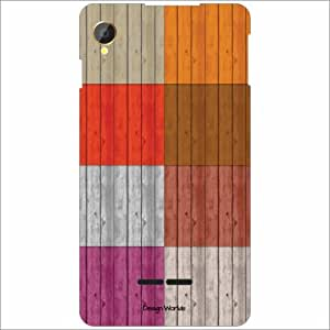 Design Worlds - Intex Aqua Power Designer Back Cover Case - Multicolor Phon...