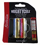 Sunbeam MightyCell AA Batteries