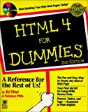 img - for HTML 4 For Dummies by Tittle, Ed, Pitts, Natanya (1999) Paperback book / textbook / text book