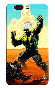 Omnam Hulk Man Printedn Printed Designer Back Cover Case For Huawei Honor V8