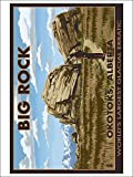 Big Rock - Okotoks, Alberta - World's Largest Glacial Erratic (Playing Card Deck - 52 Card Poker Size with Jokers)
