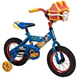 Boys 14 Inch Jake and The Never Land Pirates Bicycle with Pirate Chest