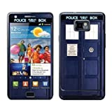 Diabloskinz Vinyl Adhesive Skin,Decal,Sticker for the Samsung Galaxy S2 - Police Box